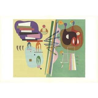 1969 Parisian Period Poster by Wassily Kandinsky