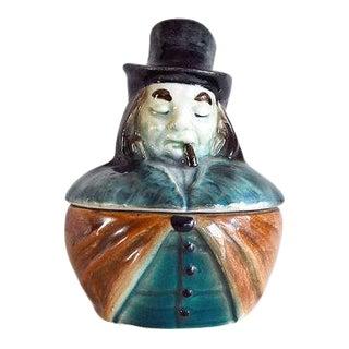 1900s Austrian Tobacco Jar