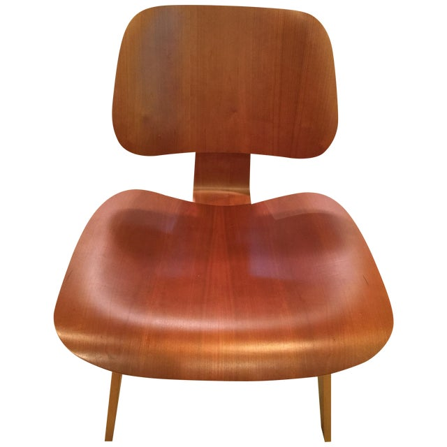 Eames Cherry Plywood Lounge Chair - Image 1 of 9