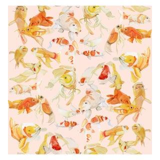 Voutsa Wallpaper - Koi on Pink