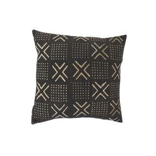 African Mudcloth Pillow Cover