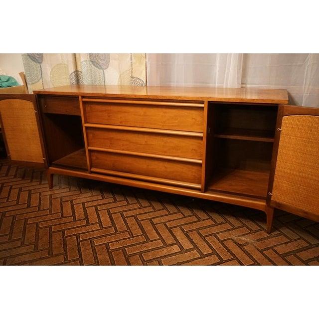 Walnut Mid Century Credenza By Lane Furniture Chairish