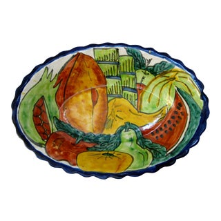 Mexican Ceramic Hanging Bowl