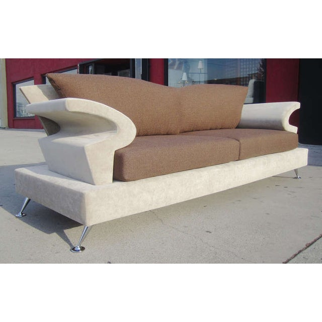 Sculptural Memphis Style Sofa by B&B Italia - Image 7 of 7