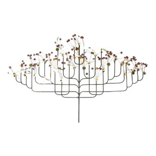 C. Jere Raindrops Tree Wall Sculpture