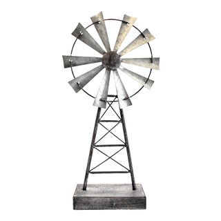 Windmill Table Top Sculpture