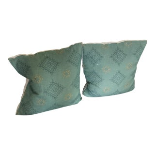 Cisco Home Turquoise & Blue Pillows - A Pair