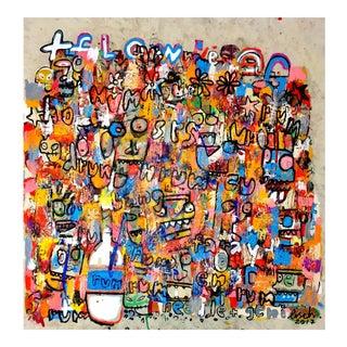 """Jonas Fisch """"Firework"""" Original Artwork"""