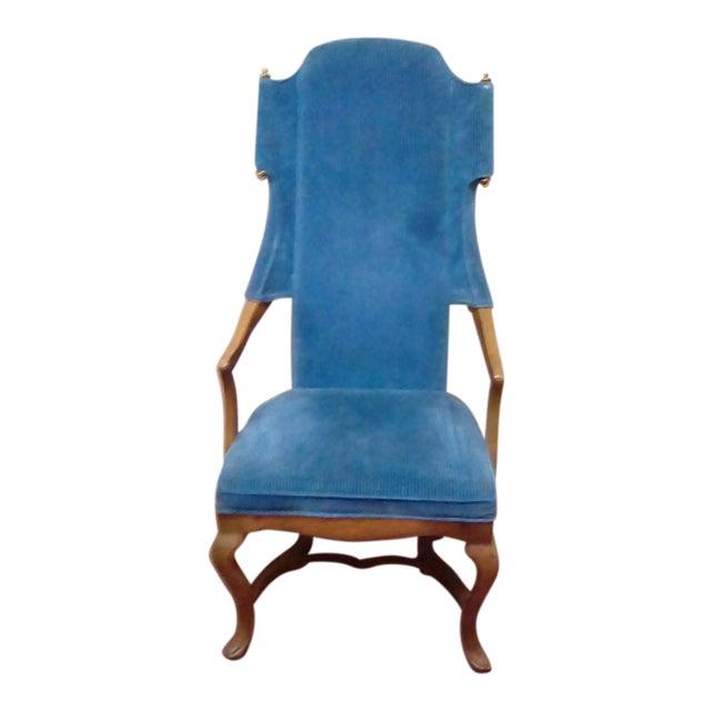Jim Peed Esperanto Drexel Wingback Chair - Image 1 of 9