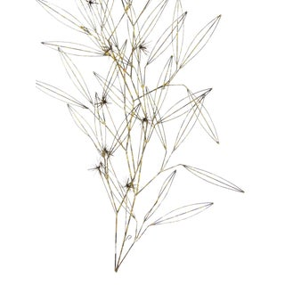 C. Jere Tree Branch Blossom Wall Sculpture
