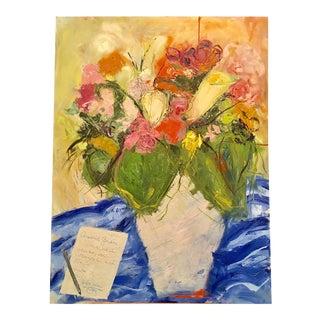 """Jj Justice """"Quierdo Juan"""" Oil Painting"""