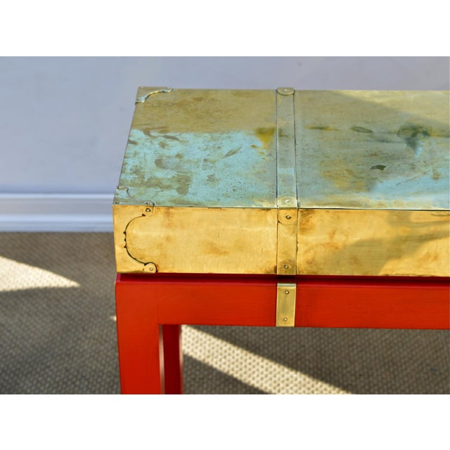 Brass Campaign Style Console - Image 5 of 9