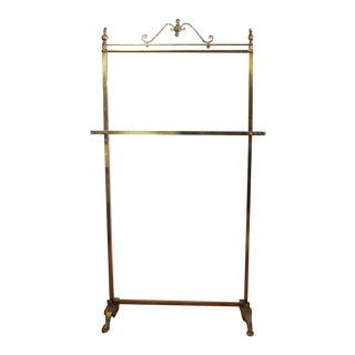 Antique Decorative Brass Coat Rack