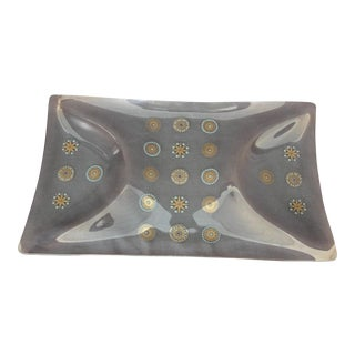 Sinclair Glass Molded Glass Serving Tray