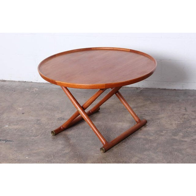 Egyptian Table by Mogens Lassen for A.J. Iversen - Image 8 of 10