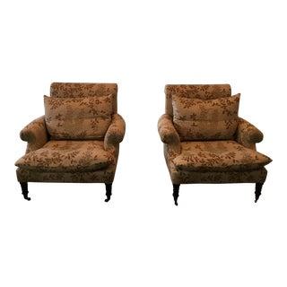 Lona Design Eddie Club Chairs - A Pair