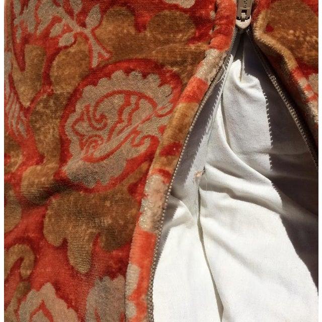 Designer Damask Velvet Pillows - Image 6 of 6