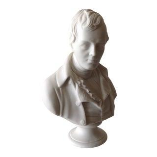 Vintage Young Napolean Bonaparte Bisque Sculpture
