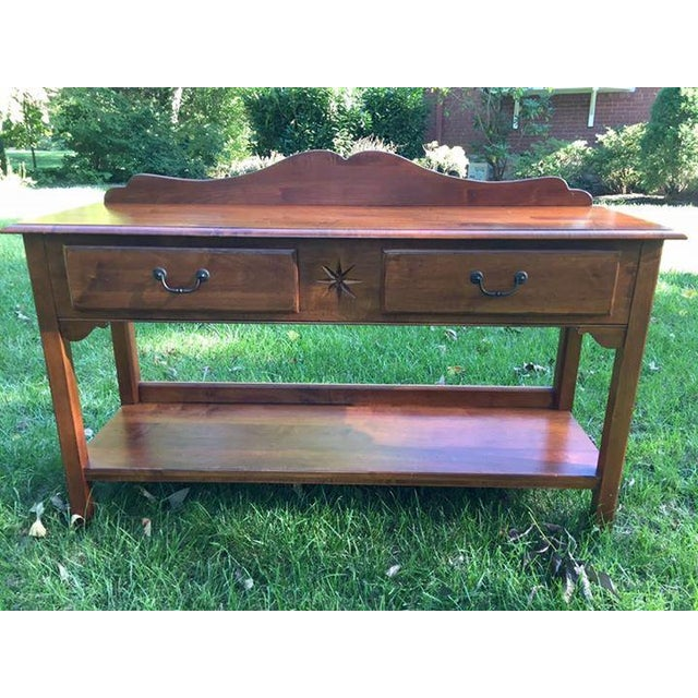 Ethan Allen Country Colors Coffee Table