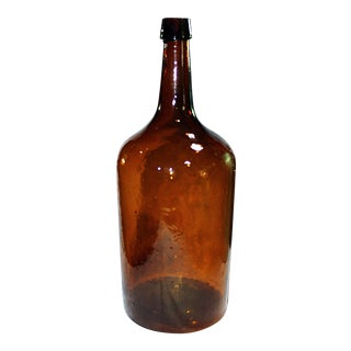 Demijohn Antique Blown Glass Bottle
