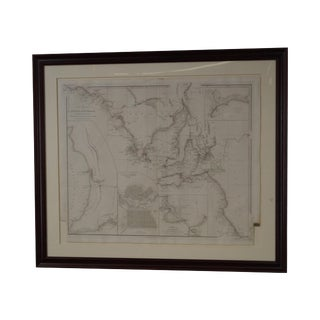 Antique W. Graham Arader III Framed Australian Map