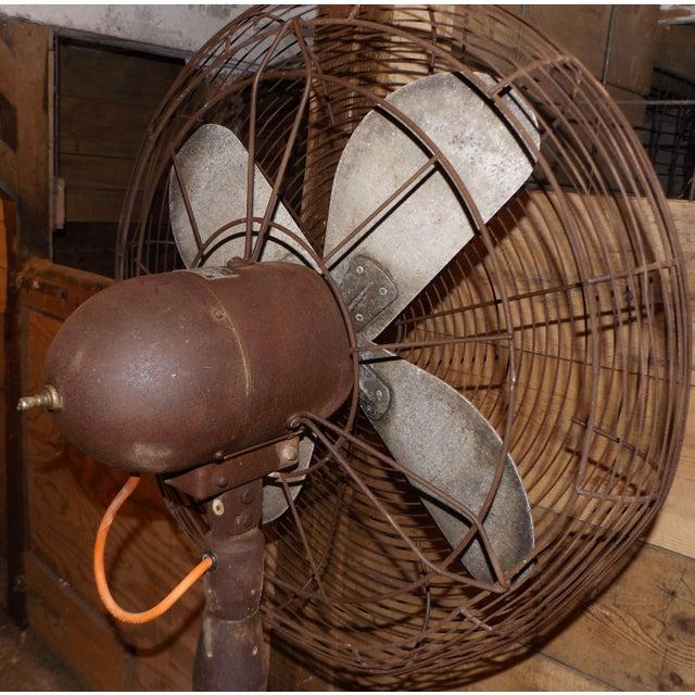 """Big Old Hunter Industrial Pedistal Fan 5' 8"""" Tall - Image 6 of 8"""