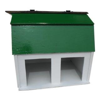 Vintage Handmade Miniature Barn