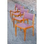 Image of Mid-Century Danish Teak Dining Chairs - Set of 4