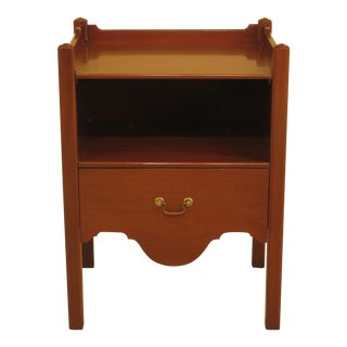 Kittinger Williamsburg Mahogany Bedside Commode
