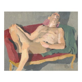 'Drew' Male Nude Painting