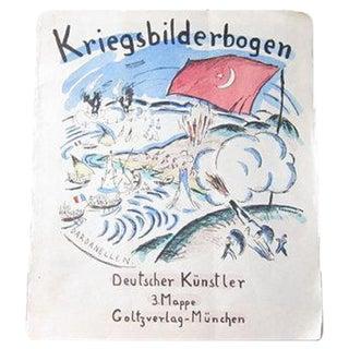 Kriegsbilderbogen D. Kunstler Lithographs - Set/11