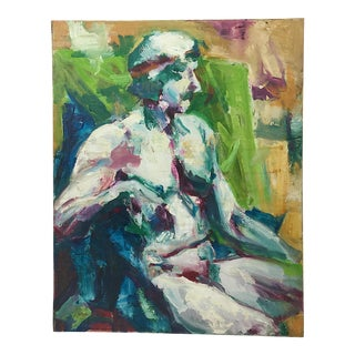 """O'Leary"" Greco-Roman Figurative Oil"