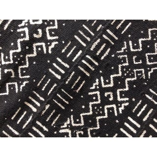 African Black Mudcloth Textile