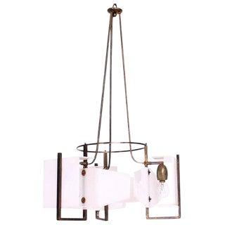 Italian Modernist Vintage Chandelier