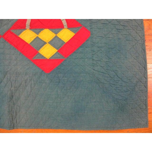 Modern Geometric Cotton Quilt Chairish