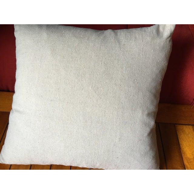 Vintage British Union Jack Flag Pillow - Image 4 of 5