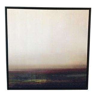 """""""Hazy Field I"""" Framed Canvas Print"""