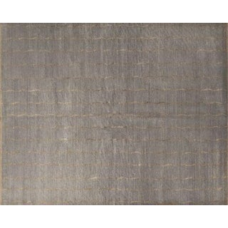 Barbara Barry Slate Tibetan Wool & Silk Area Rug - 15'x18'