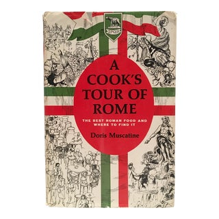 1st Edition 1964 a Cook's Tour of Rome By, Doris Muscatine