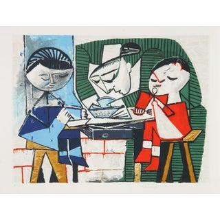 Pablo Picasso - Le Repas Des Infants Lithograph
