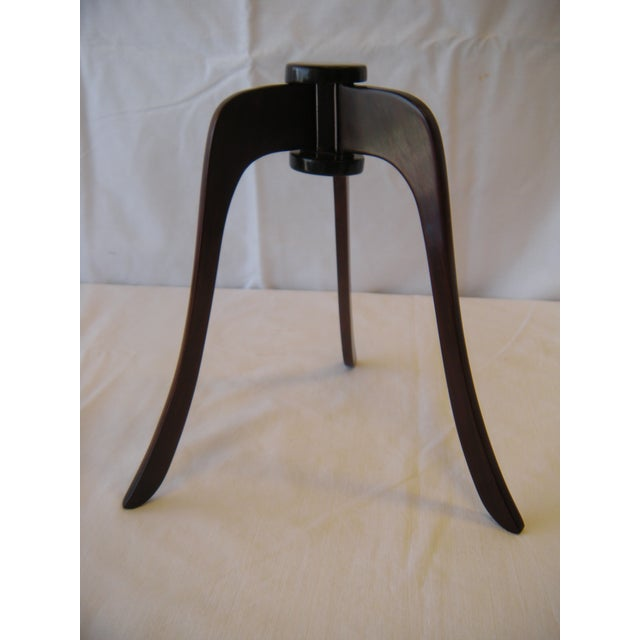 Antique Asian Wooden Hat Stand - Image 2 of 4