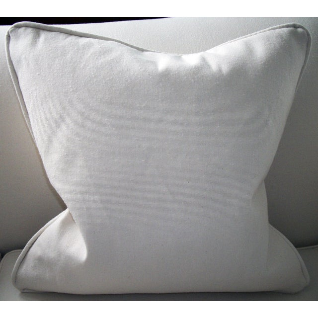Vintage Suzani Bolinpush Pillow - Image 4 of 4
