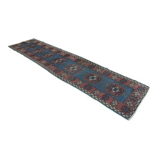 Hand Knotted Turki̇sh Runner - 2′7″ × 10′6″