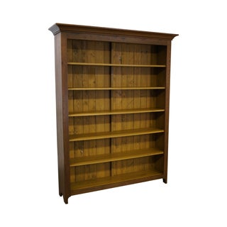 Hand Crafted Shaker Sassafras Wood Bookcase