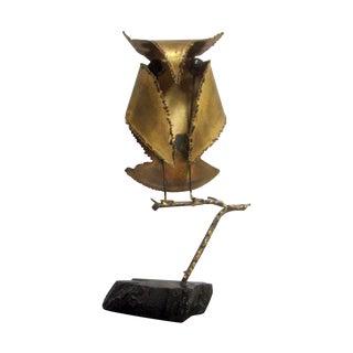 Vintage  Brass Owl Jere