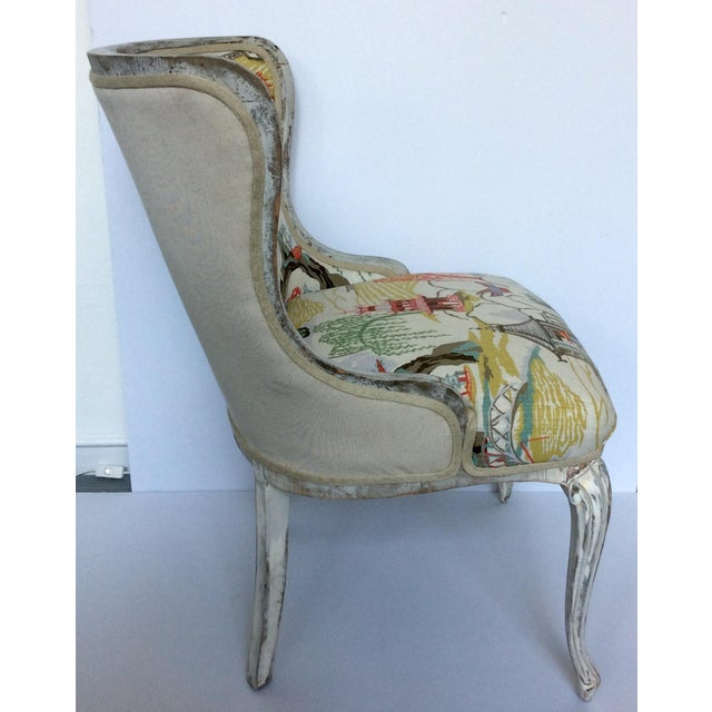 Antique Upholstered Chair - Image 4 of 8