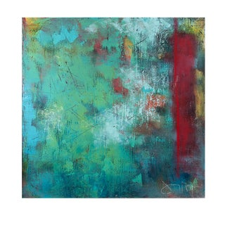 """Signed Print on Metal """"My Dwelling Place"""""""
