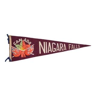 Niagara Falls Felt Flag