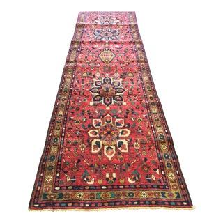 """Vintage Persian Karajeh Runner Rug - 3'3"""" x 10'9"""""""