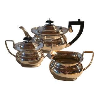 Sheffield Silver Tea Set - Set of 3